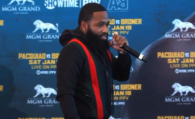 Broner Makes Disgusting Joke About Freddie Roach At Pacquiao LA Presser
